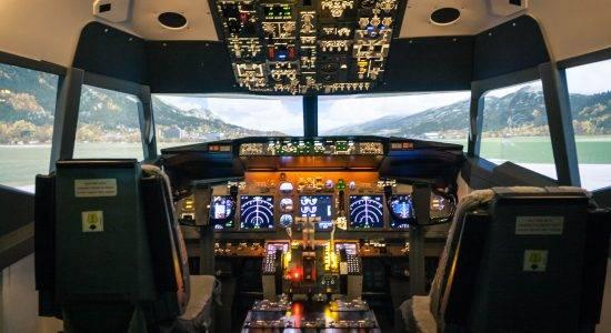 Авиатренажёр Боинг 737